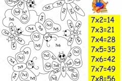 Математические-раскраски-на-таблица-умножение-на-7