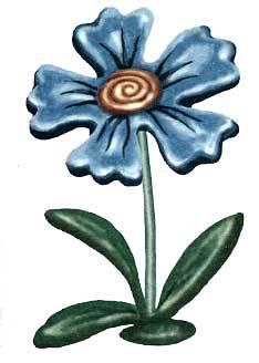 Պլաստիլինե աստղածաղիկ