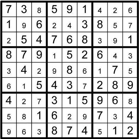 Սուդոկուների հավաքածու 2 (հեշտ)