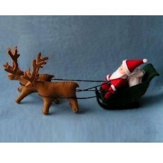 Փափուկ խաղալիք. «Ձմեռ Պապիկ սահնակով»