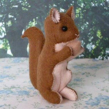 Փափուկ խաղալիք «Սկյուռիկ»