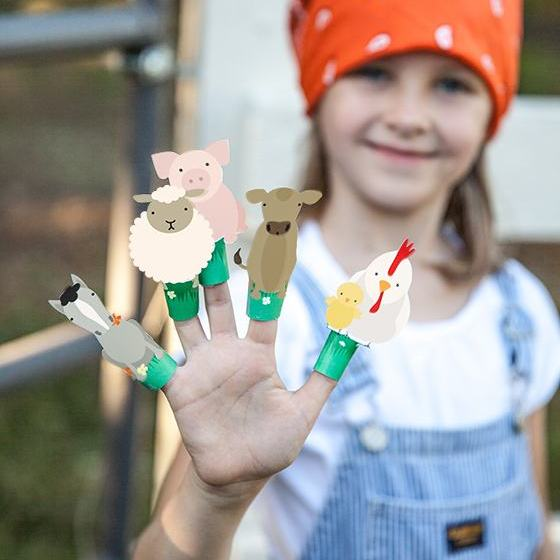 FarmAnimalFingerPuppets