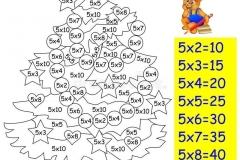 Математические-раскраски-на-таблица-умножение-на-5