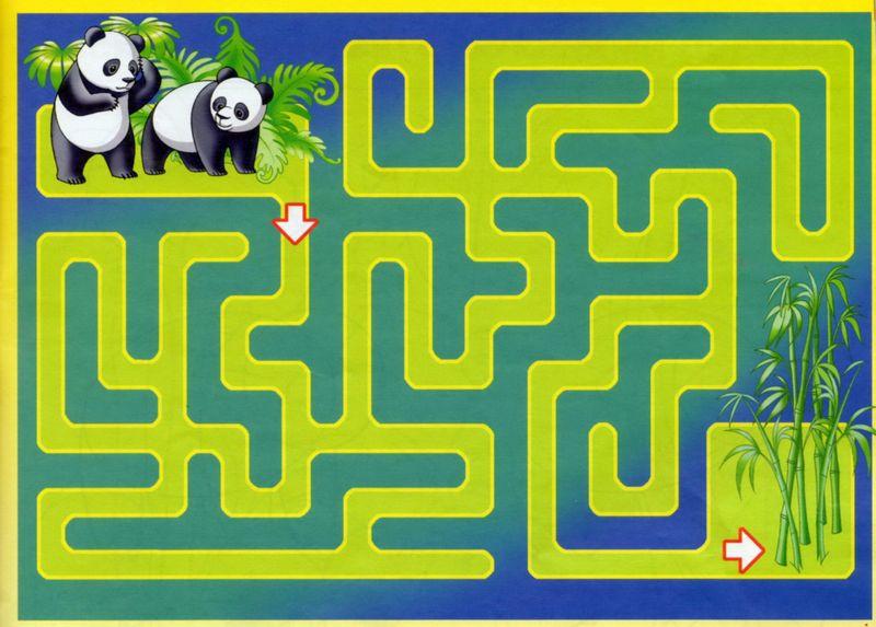 labirint panda 2
